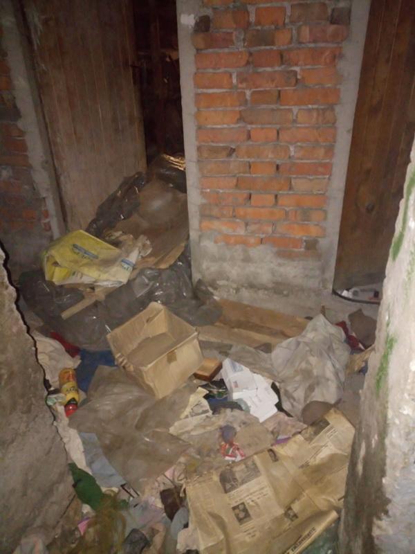 Почистване на мазета и тавани.