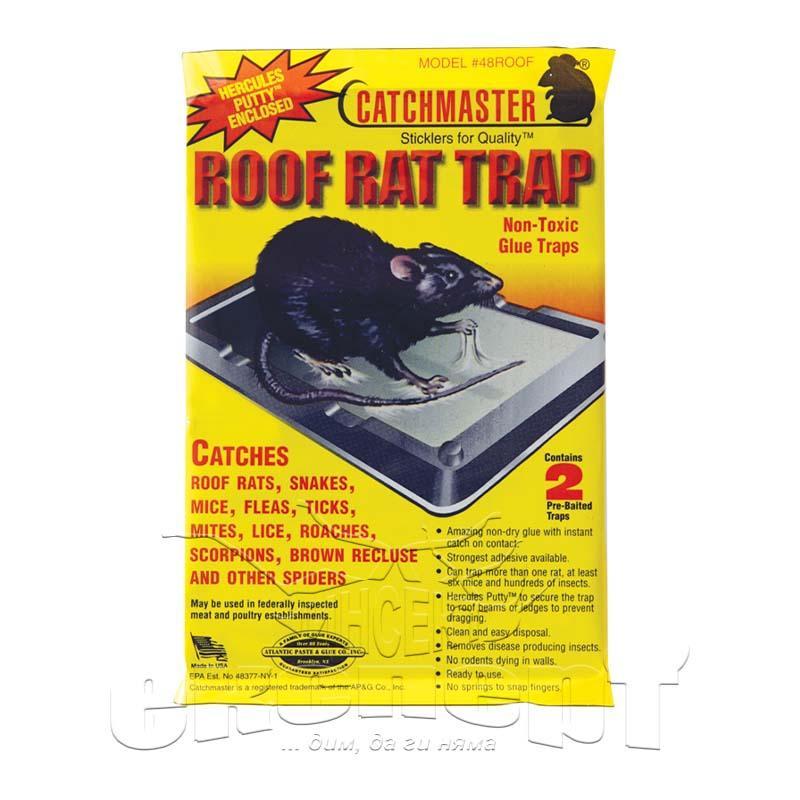 Catchmaster 48ROOF - леплив капан за гризачи | Препарати против вредители | Инсект Експерт